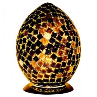 Black-tile-medium-mosaic-glass-egg-lamp