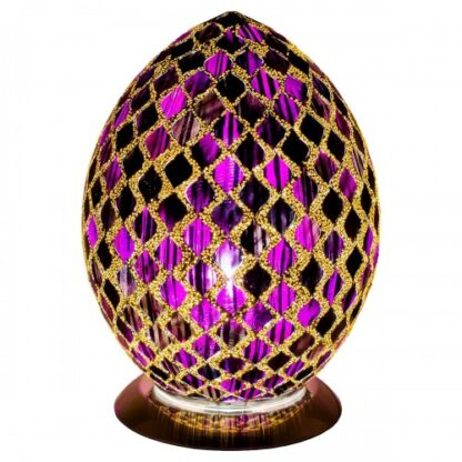 Purple-tile-medium-mosaic-glass-egg-lamp