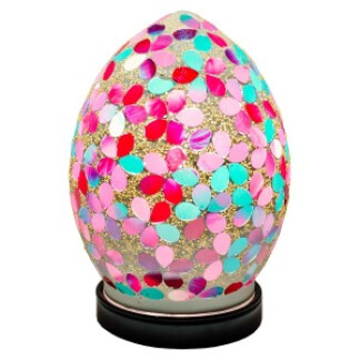 lm71pk_mini_mosaic_glass_egg_lamp_pink
