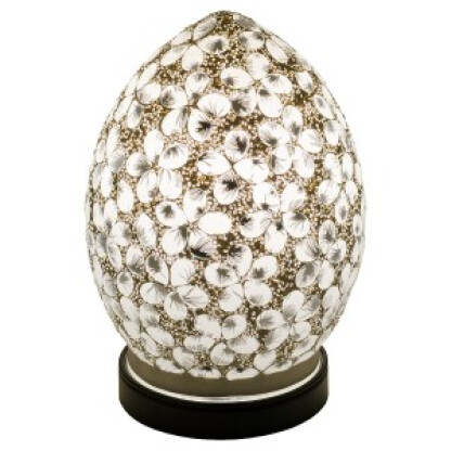 lm71w_mini_mosaic_glass_egg_lamp_white