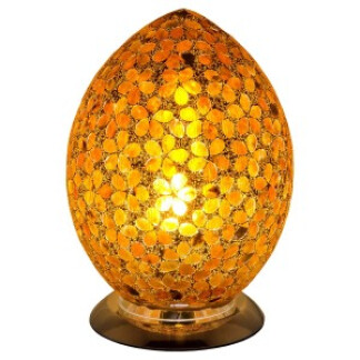 lm72br_mosaic_glass_egg_lamp_brown